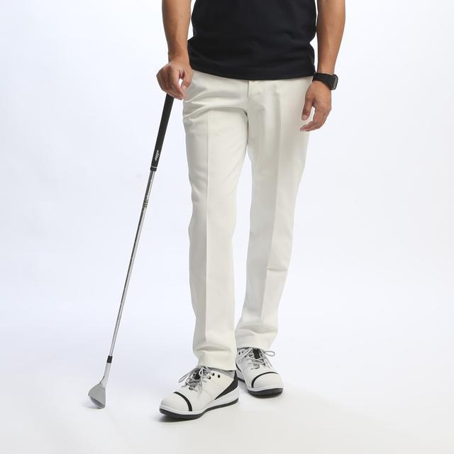 画像: 【ぼくら史上最高の白パン】NUMBER M 白ロングパンツ|ゴルフダイジェスト公式通販サイト「ゴルフポケット」