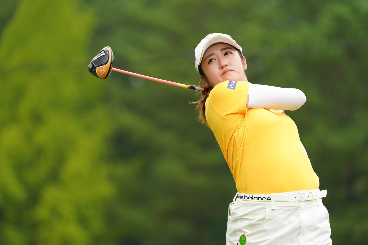 画像: 尻上がりにショットの調子を上げ盤石のゴルフで2位に4打差をつけ優勝を手にした(写真は2021年の日本女子プロゴルフ選手権コニカミノルタ杯 写真/大澤進二)