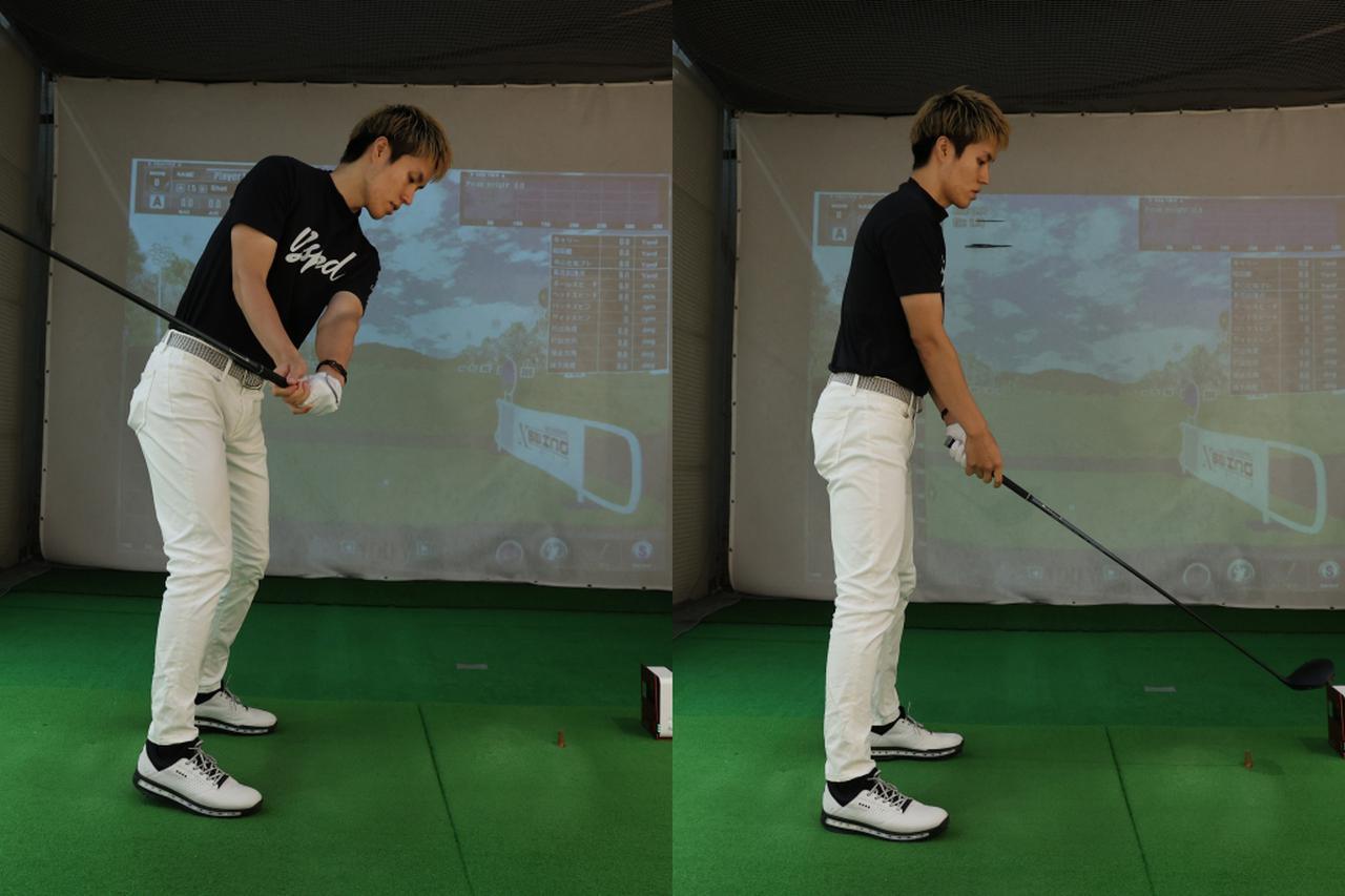 画像: 正面から吹く風に抵抗すると前傾角は深く(左)、背中側の風なら体の起き上がりの原因となる(右)