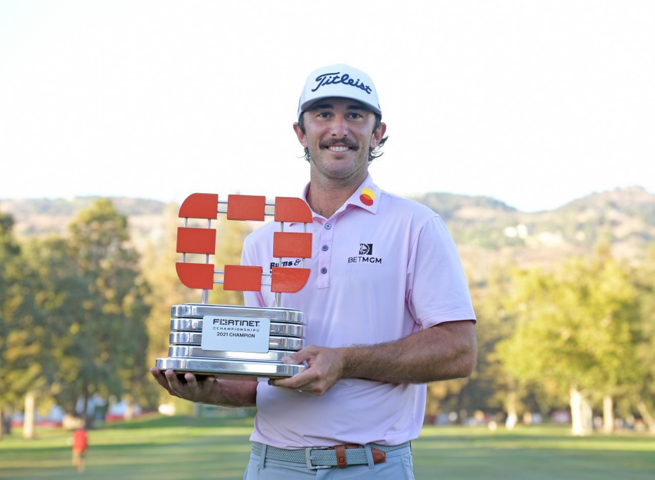画像: PGAツアー「フォーティネット選手権」を制したマックス・ホーマ(写真/Getty Images)
