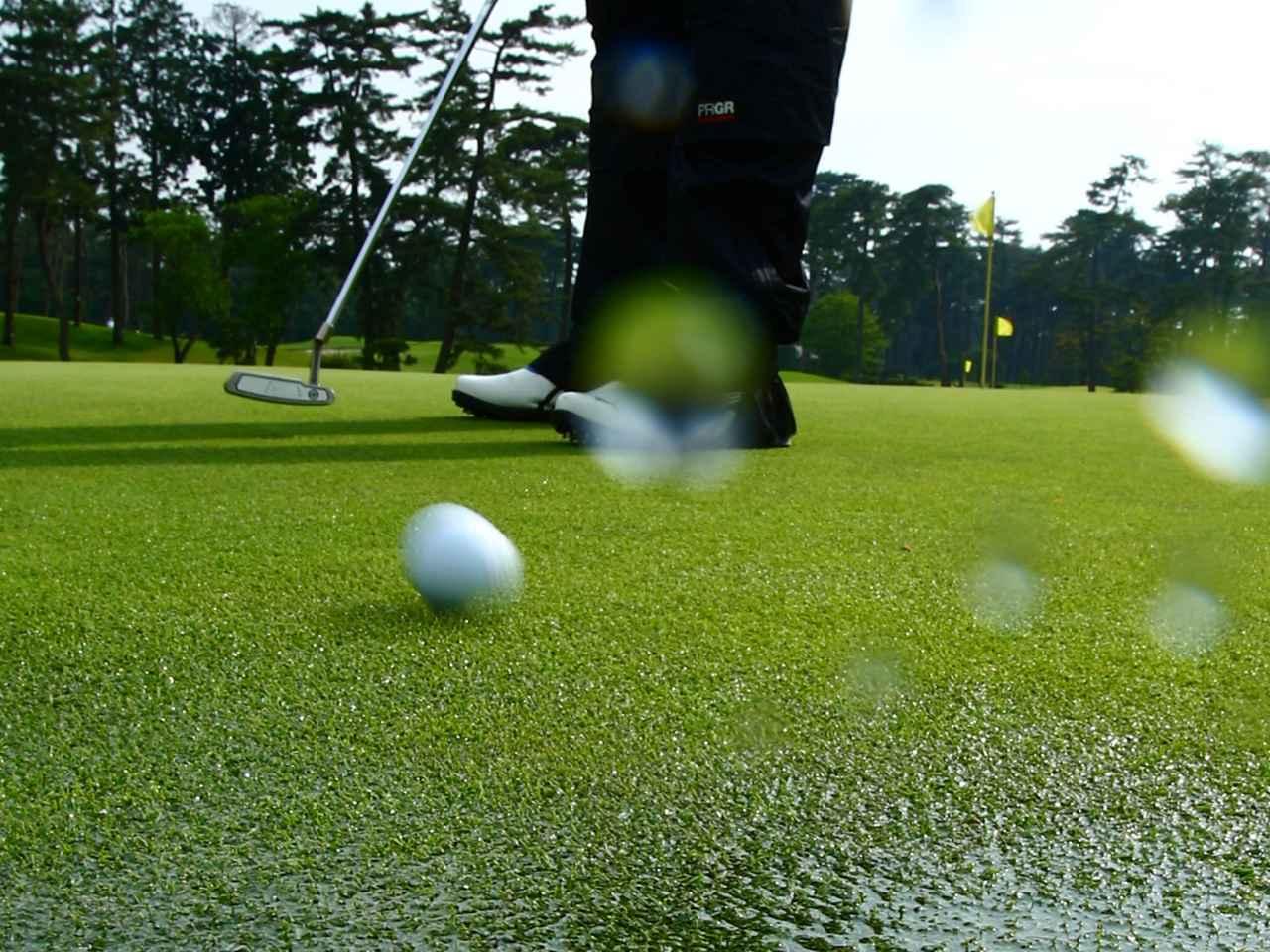 画像: 雨が降る日にプレーすると、コースの状況はどのように変わる? 兼濱プロに教えてもらおう