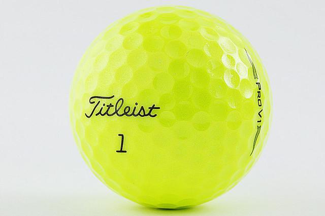 画像: シニアツアーで黄色ボールが人気の理由とは?(撮影/小林司)