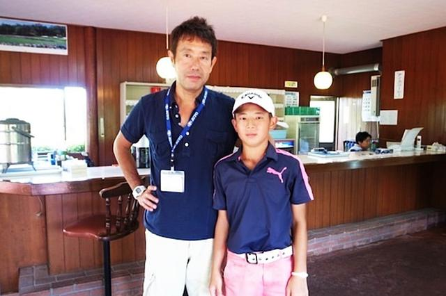 画像: 中島は小学生のころから先輩たちに交じり遊びながらゴルフを覚えていったという(写真提供/吉岡徹治)