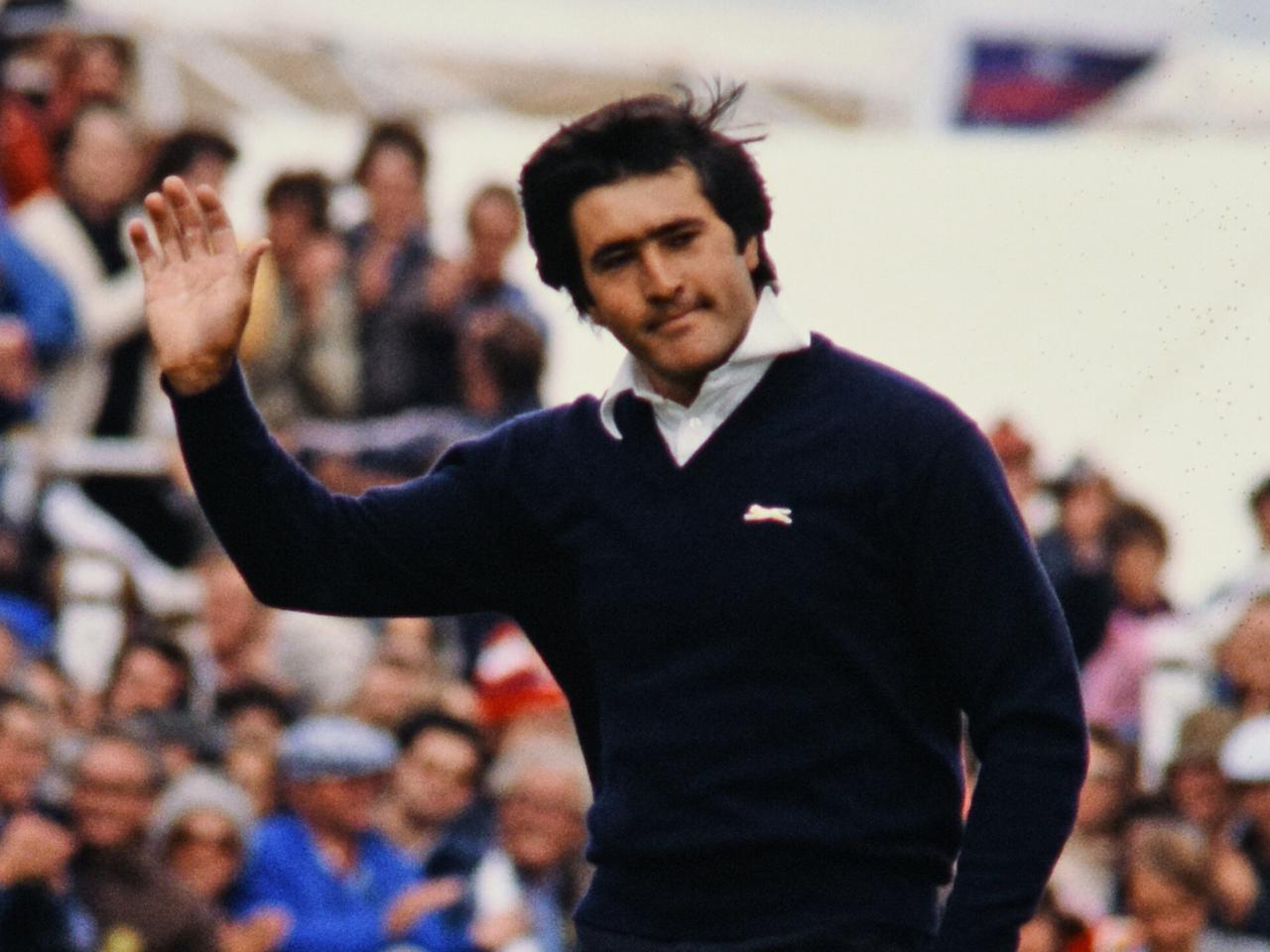 画像: スペイン出身の名手、セベ・バレステロス。そんなセベのドキュメンタリーフィルム『セベ』がR&Aプロデュースのもと制作・公開された(写真は1979年の全英オープン)
