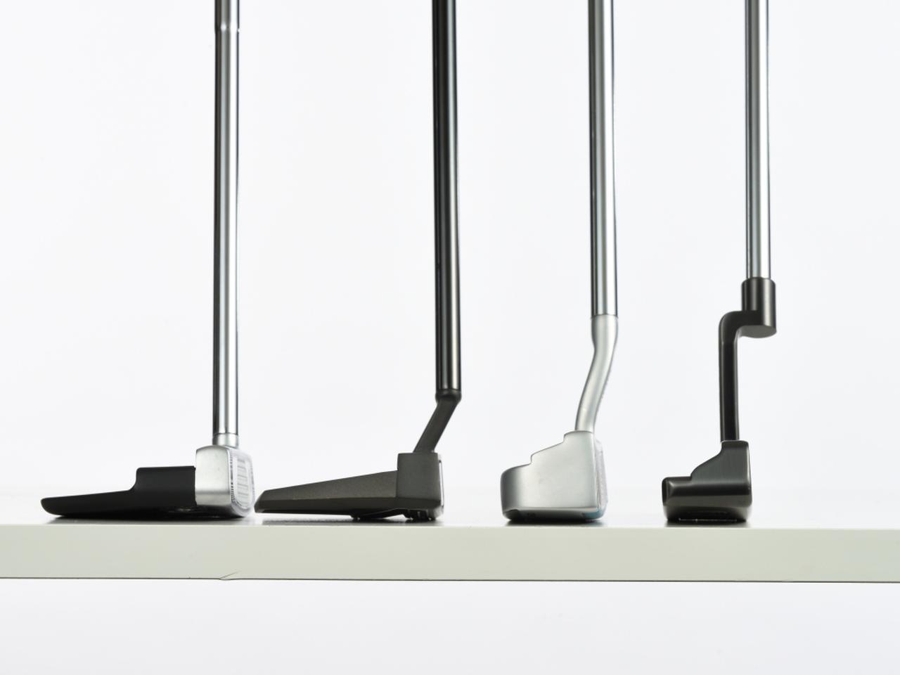画像: 最新パターは全体的にヘッド重量が増加している傾向があると小倉氏。それゆえに最新技術が駆使されていてもゴルファーのストロークのタイプによっては相性が悪い場合もあるという