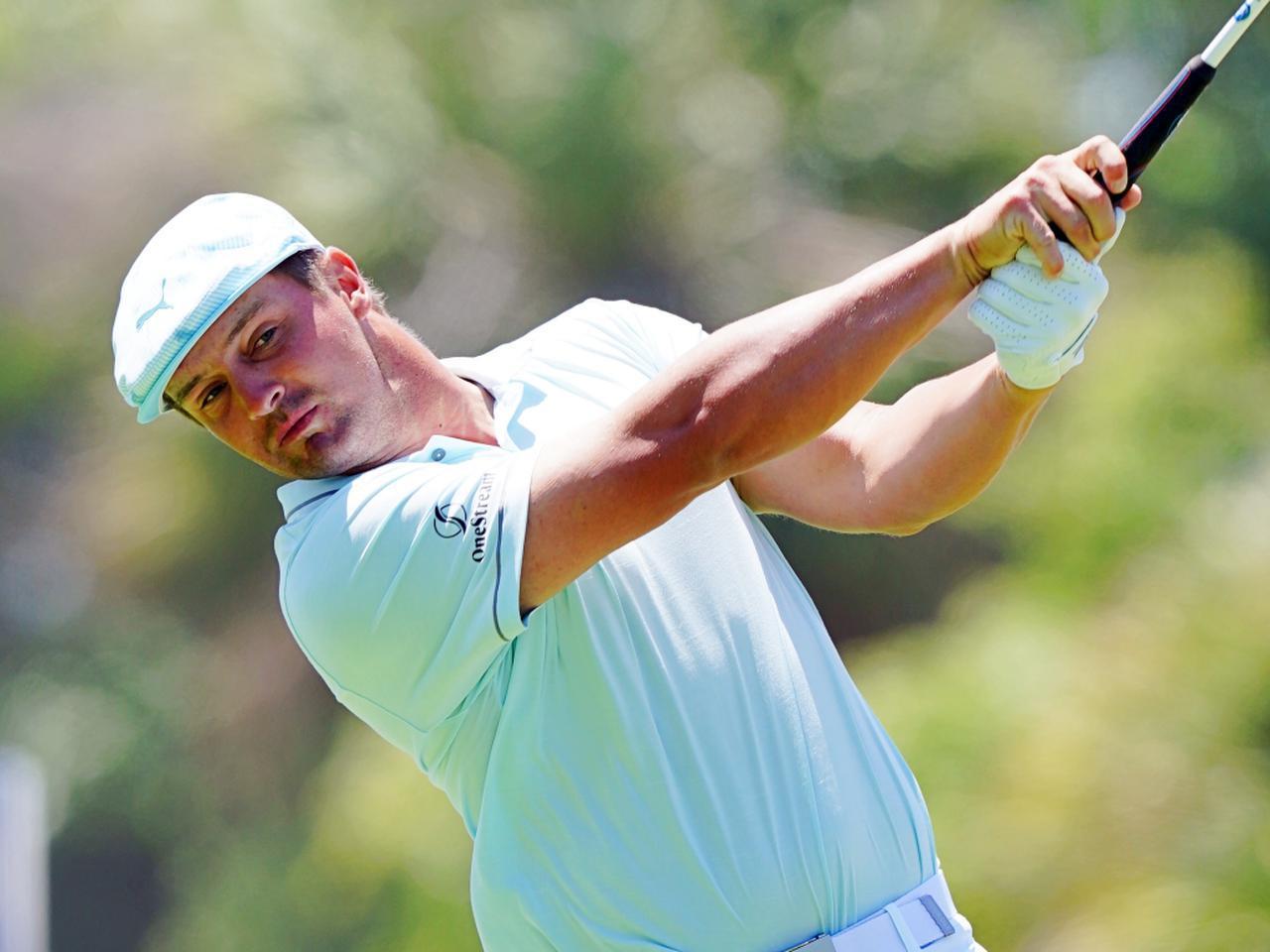 画像: PGAツアーメンバーながら、世界最高峰のドラコン競技「世界ドラコン選手権」に参戦したブライソン・デシャンボー(写真は2021年の全米プロゴルフ選手権 撮影/Blue Sky Photos)
