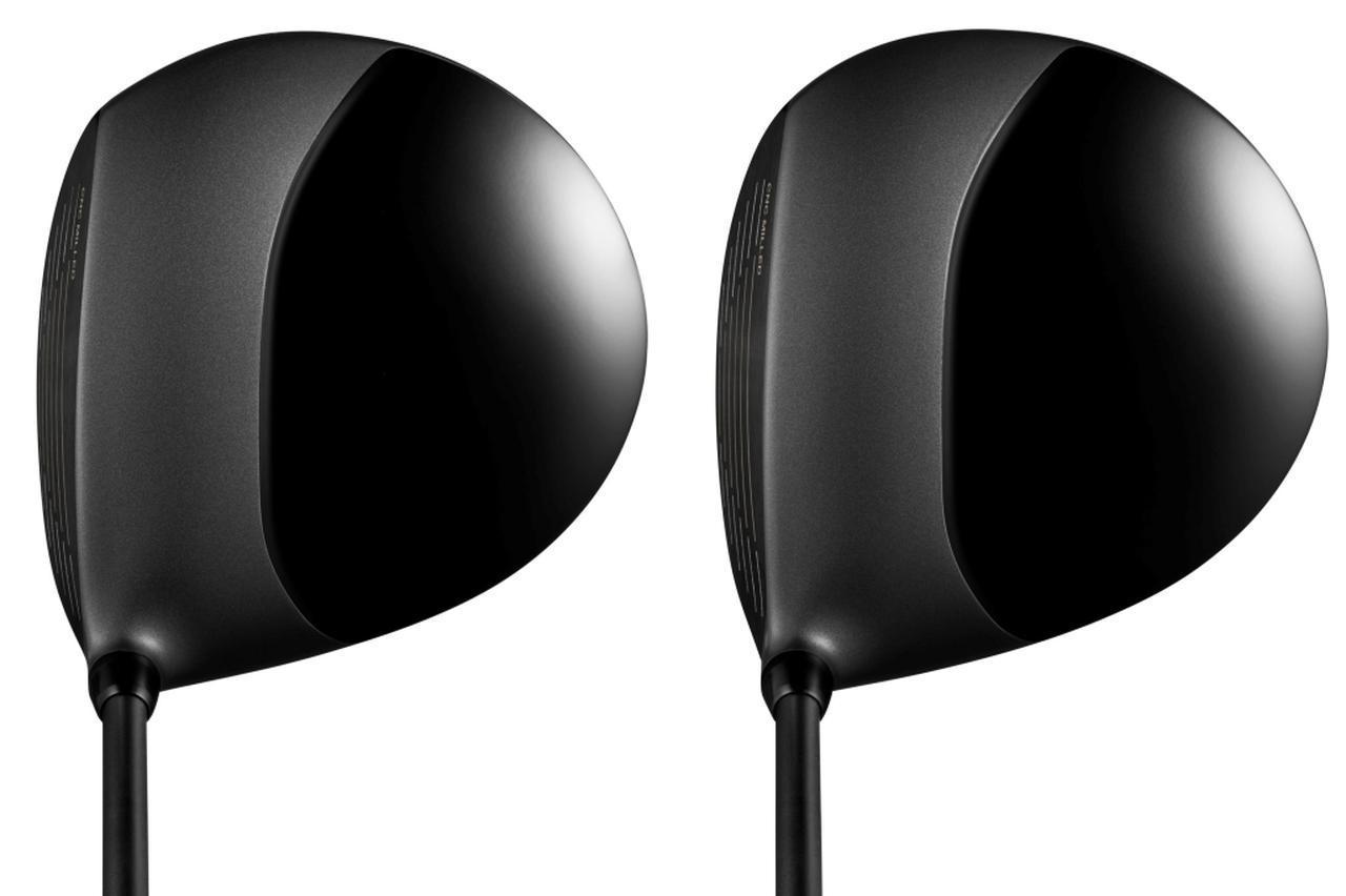 画像: 左が9.5度、右が10.5度のエッグ44ドライバー