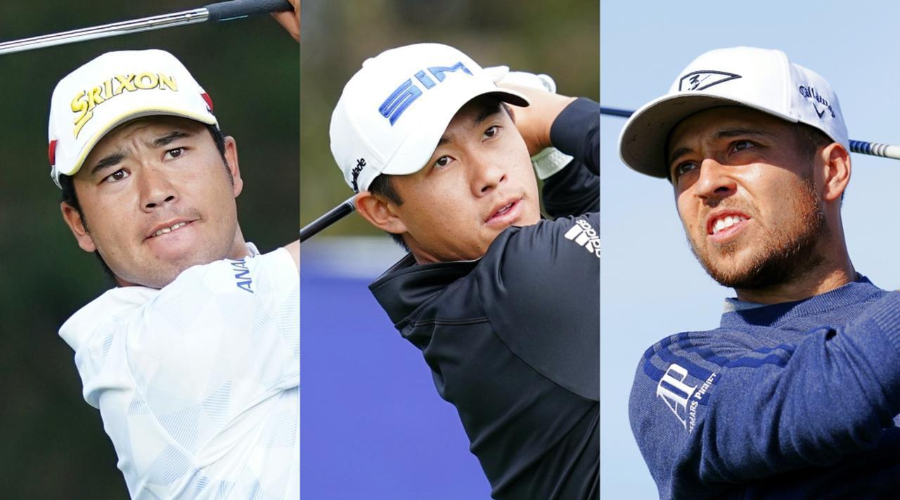 画像: 日本のエース松山英樹(左)、東京オリンピック米国代表の金メダリストであるコリン・モリカワ(中)、ザンダー・シャウフェレ(右)もZOZOチャンピオンシップ参戦が決まっている