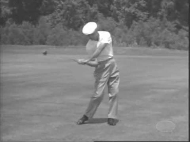 画像: Ben Hogan explains 1963 BW and 90 fps slomo www.youtube.com