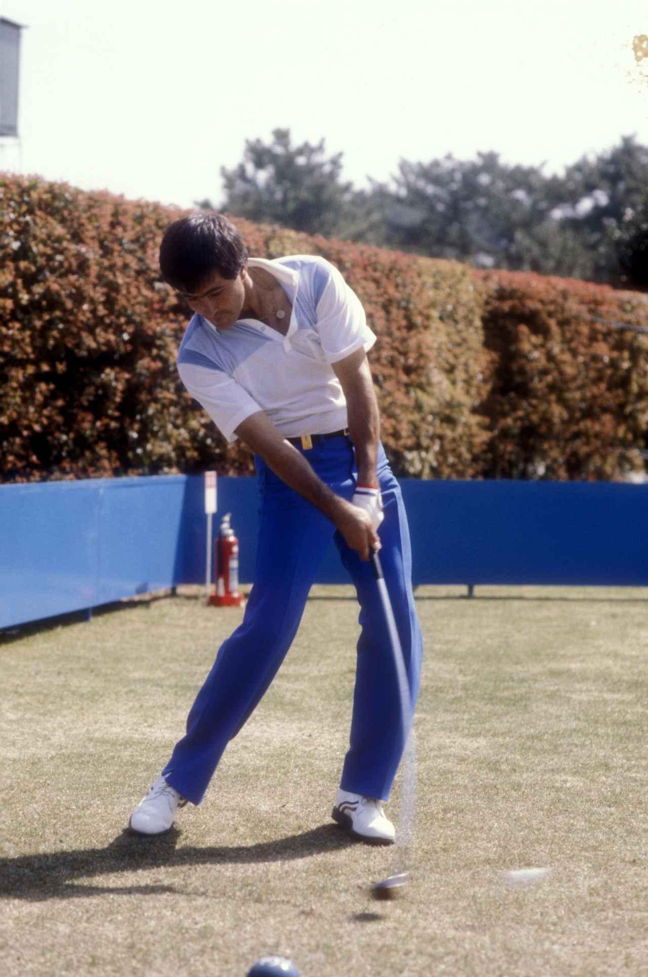 画像5: レジェンド写真館#4 1981年のセベ・バレステロス