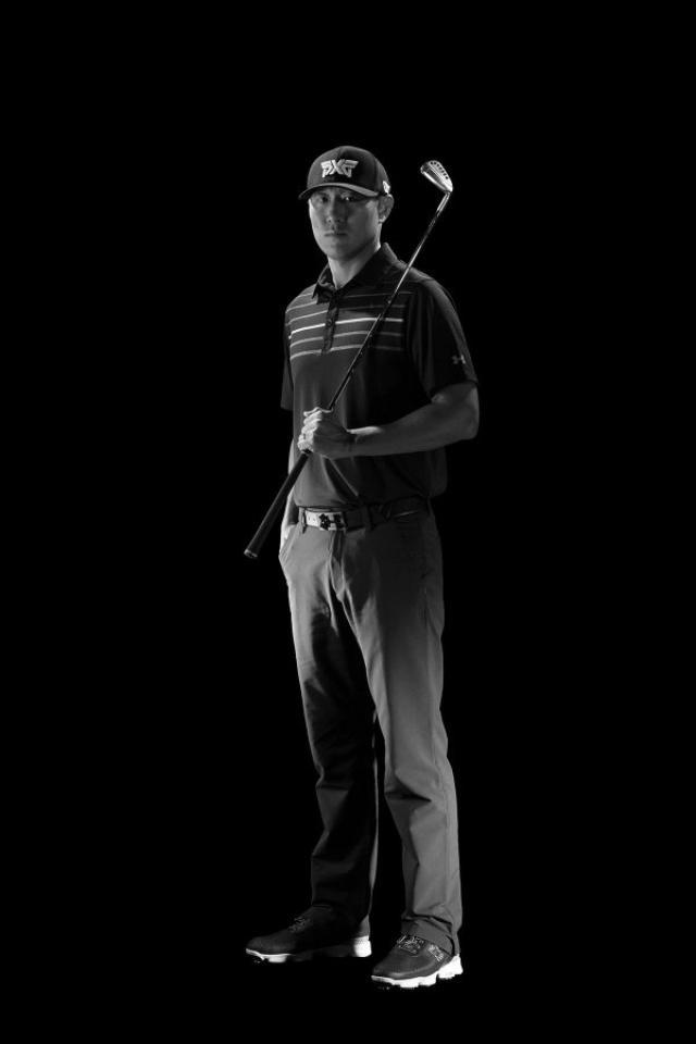 画像: 優勝したジェームズ・ハーン。その手には今年からPXGのゴルフクラブがある twitter.com