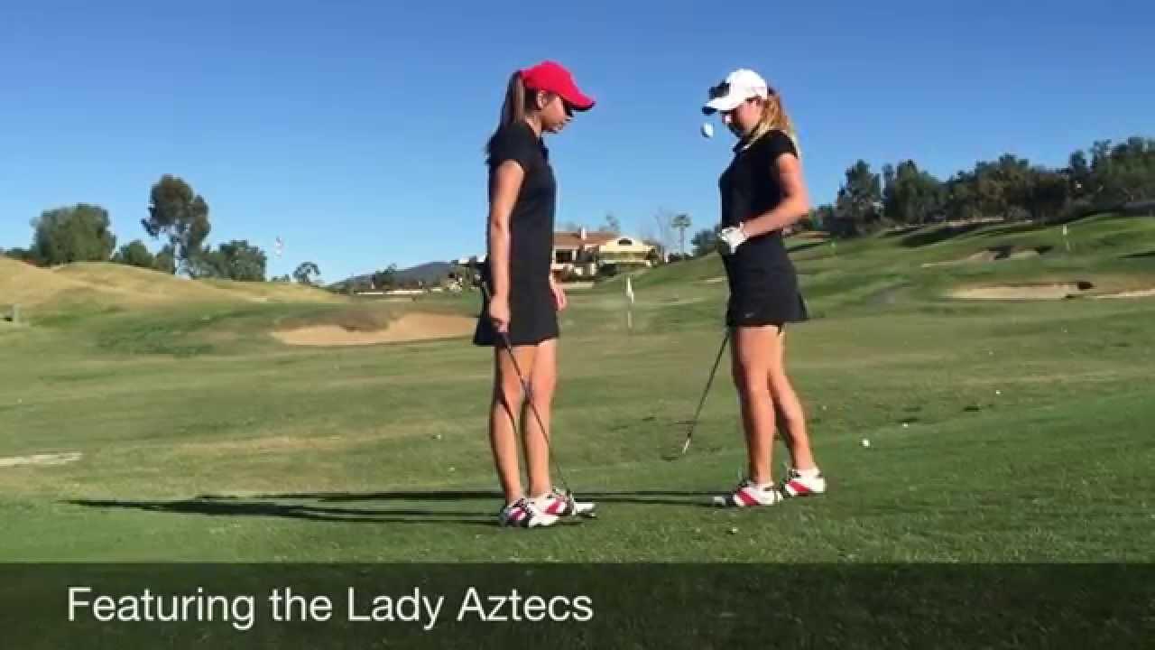 画像: SDSU Women's Golf Team Trick Shot Video www.youtube.com