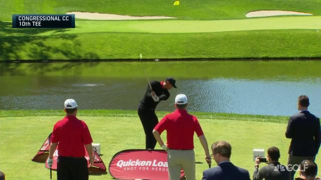 画像: Splash, splash, splash: Tiger hits 3 in the water | Golf Channel