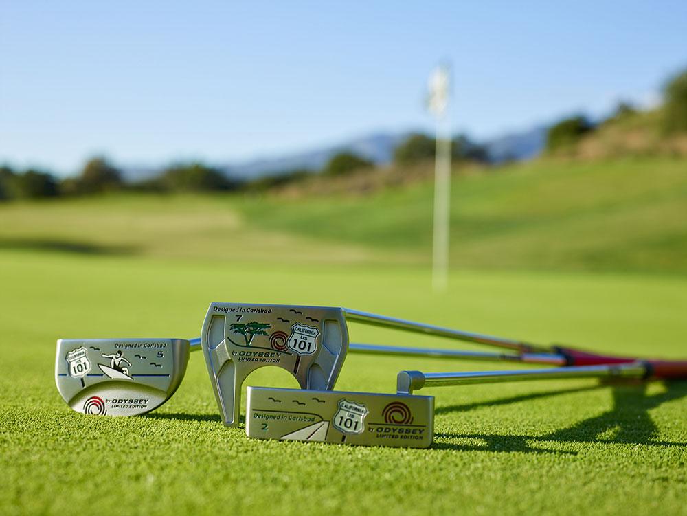 画像: 写真は米国オデッセイのウェブサイトより。カリフォルニアの陽光が良く似合うパターみたいだ blog.odysseygolf.com
