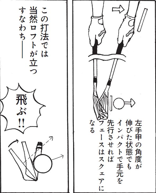 画像2: ポイントは、「左手甲」の角度