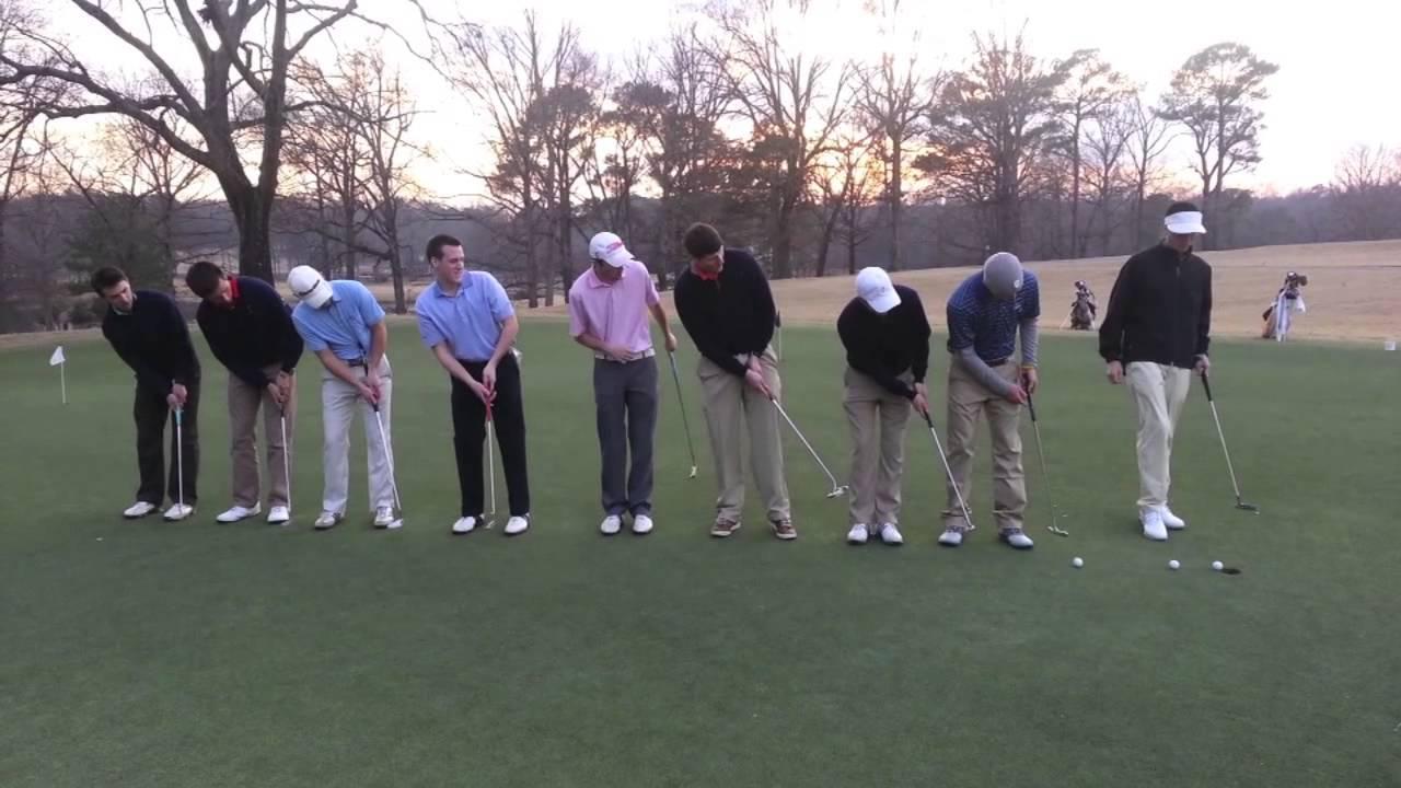 画像: 9 Putts Into One Hole - CU PGM www.youtube.com