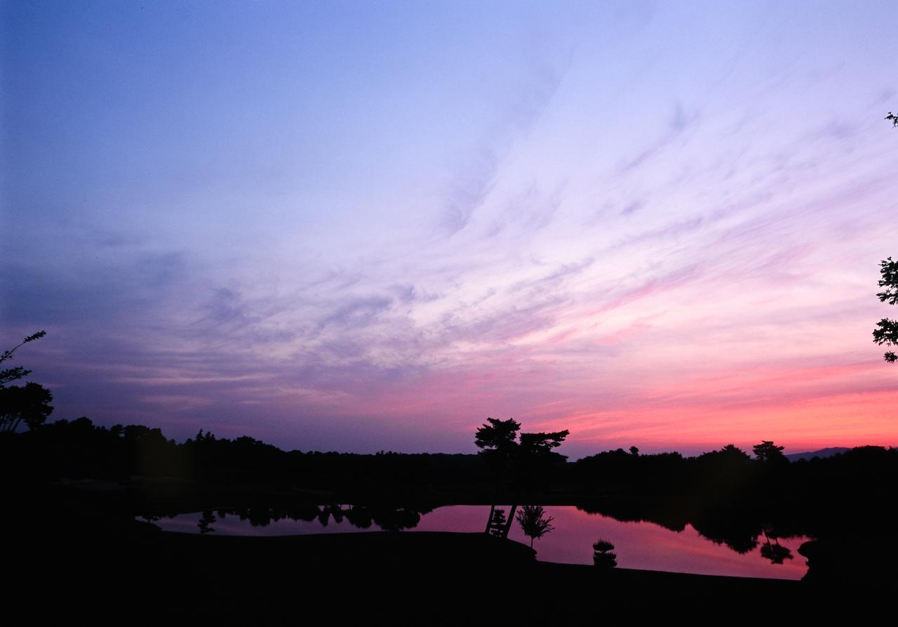 画像: ABC GC 18Hの夕焼け (撮影/横山博昭)