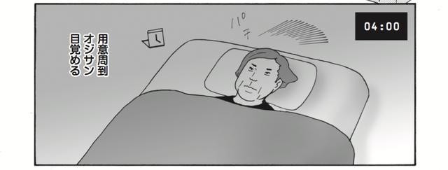 画像: そして、早~く寝て目覚める人。