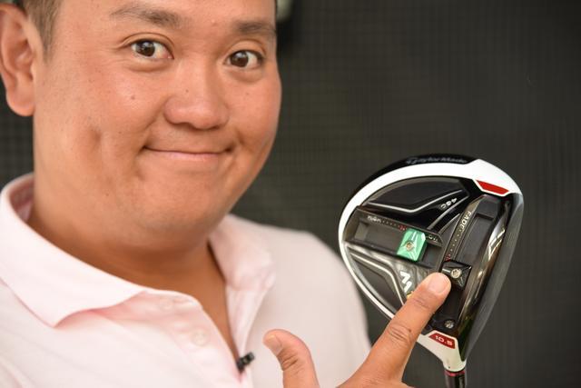 画像: テーラーメイドの「M1」ドライバーは、重心がフェース面より。すなわち重心が浅い。