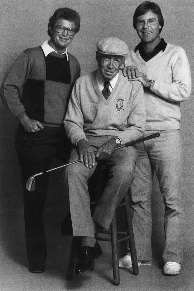 画像: ベン・クレンショー(右)、トム・カイト(左)、ふたりのメジャーチャンピオンを育てた