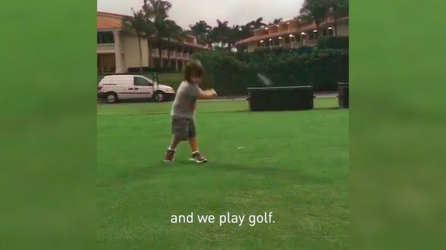 画像2: 父親とのゴルフがなによりの楽しみだ