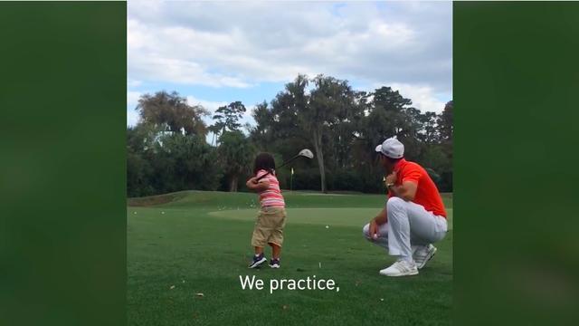 画像1: 父親とのゴルフがなによりの楽しみだ