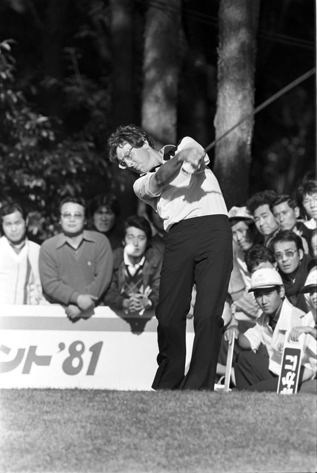 画像: 1981年 ブリヂストンオープンゴルフトーナメントでの一枚。この試合はアーウィンが制した