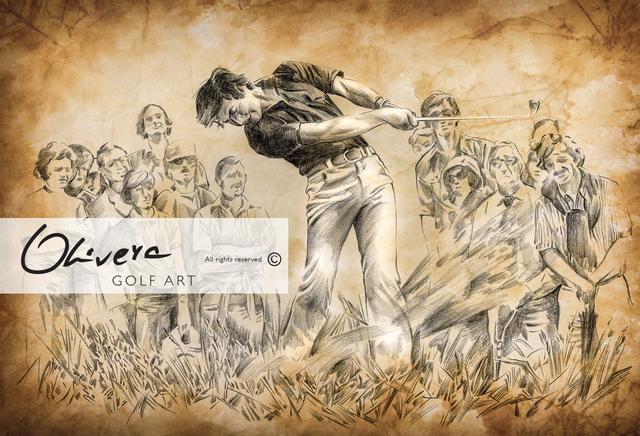 画像: Golf Art | Golf Art by Olivera Cejovic