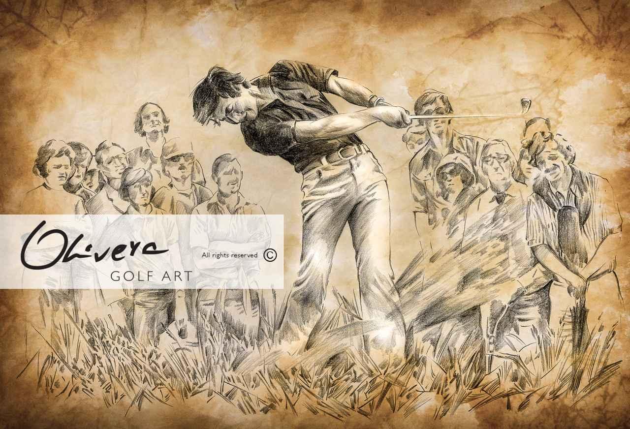 画像: Golf Art   Golf Art by Olivera Cejovic