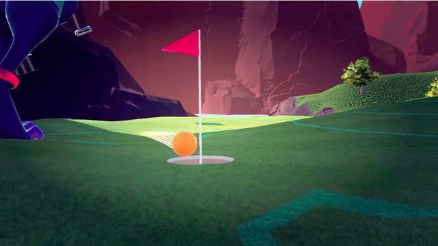 画像: 最後はうまくパットを沈めて終了……。ここはゴルフっぽいのかよ! www.youtube.com