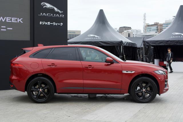 画像: SUVといえども、流線型のスポーティーなデザインとなっている