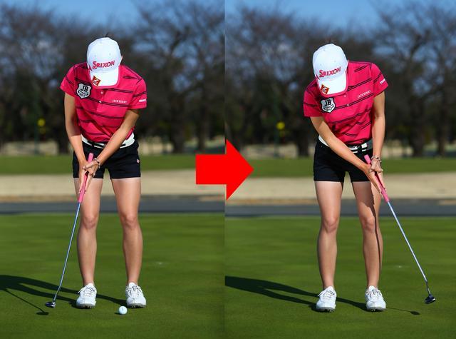 画像: パター挟み打ちドリルで、手首の動きを抑えよう
