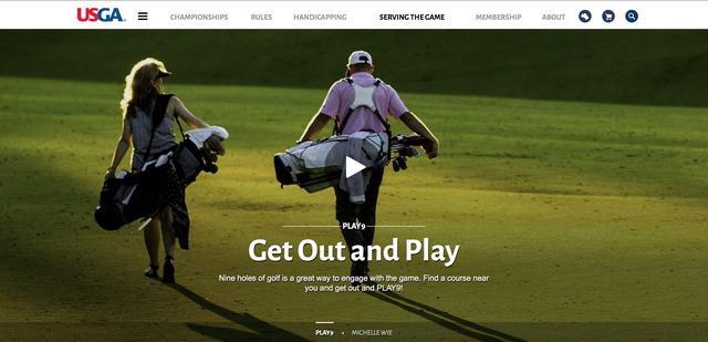 画像: USGA(全米ゴルフ協会)は「プレー9」という9ホールゴルフを推奨するキャンペーンを実施 www.usga.org