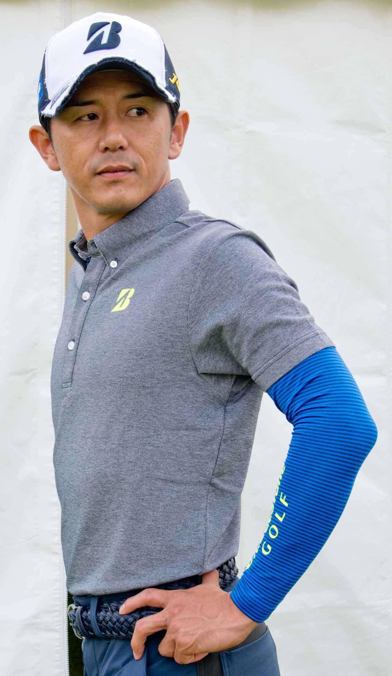画像: 近藤共弘プロ 半袖ポロシャツとアンダーシャツのセット