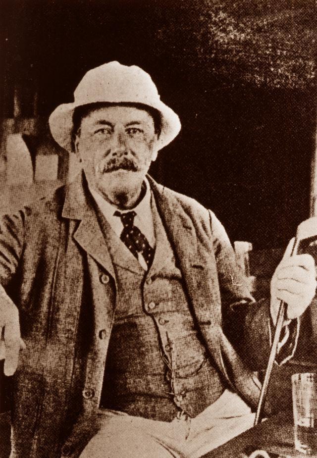 画像: 明治元年に22歳で来日した貿易商のアーサー・ヘルケス・グルーム