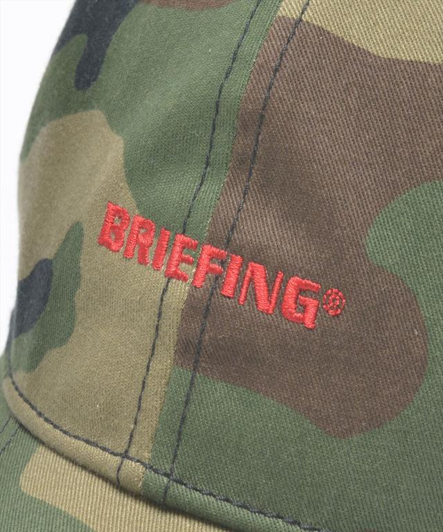 画像: キャップ前面にはブリーフィングのロゴ