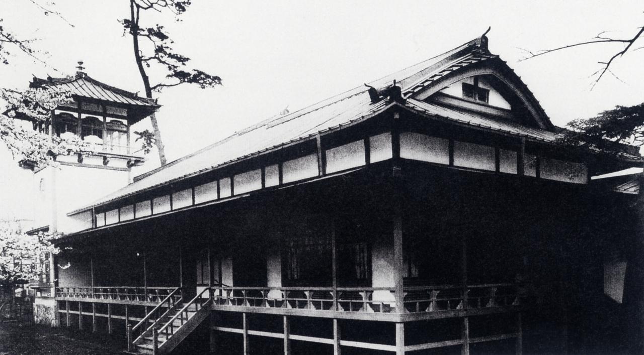 画像: 大正博覧会の迎賓館を譲り受け、クラブハウスとして駒沢へ移築した。