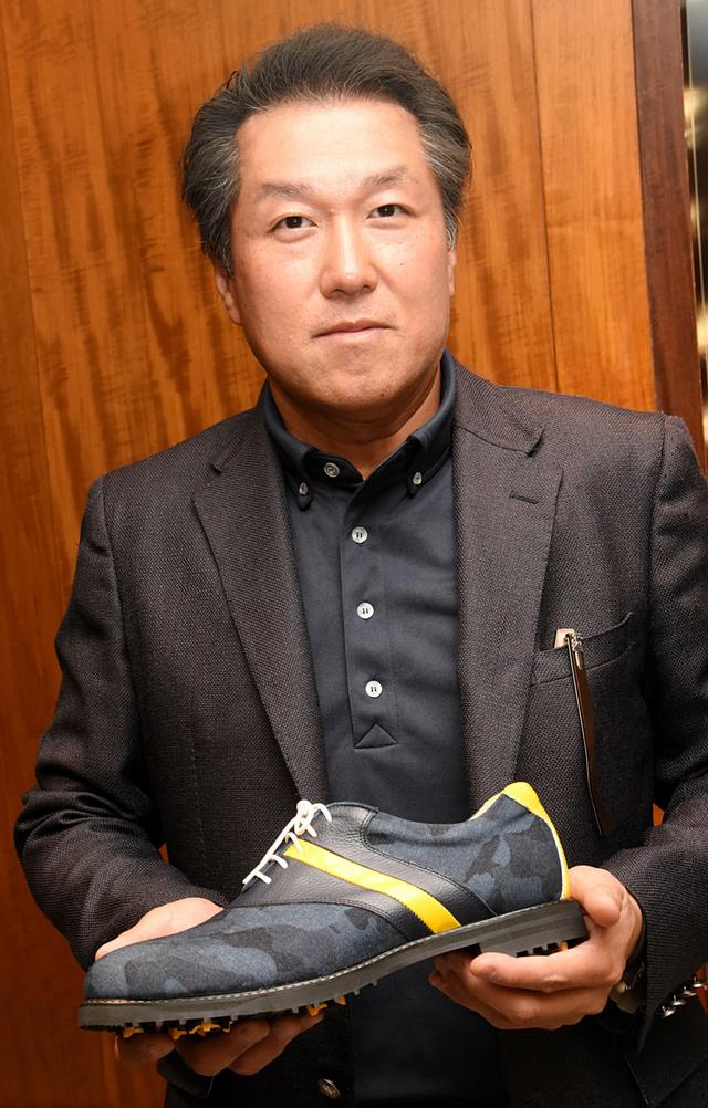 画像: アザスゴルフ代表の村田雅久さん。自身はHC5の腕前だ