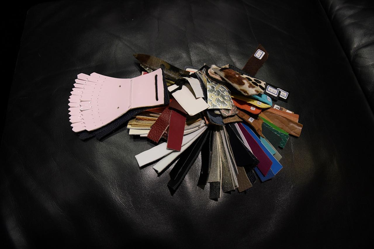 画像: 人気素材のサンプル。この中から好きな組み合わせを選んでいく