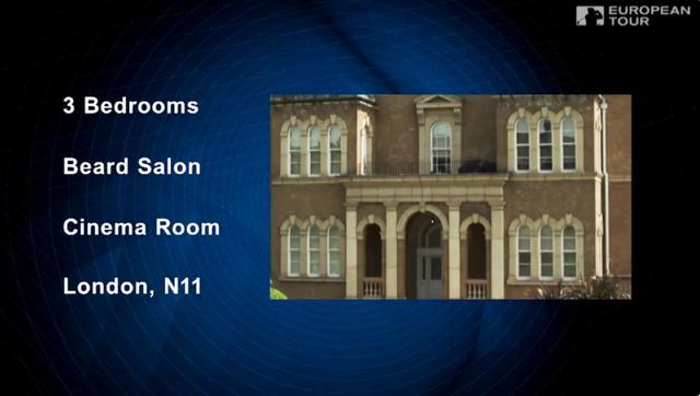画像: 寝室3つ、シネマルーム、ヒゲサロン(?)