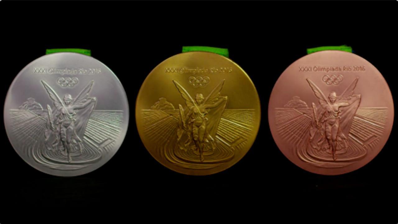 画像2: 完成したオリンピックメダル