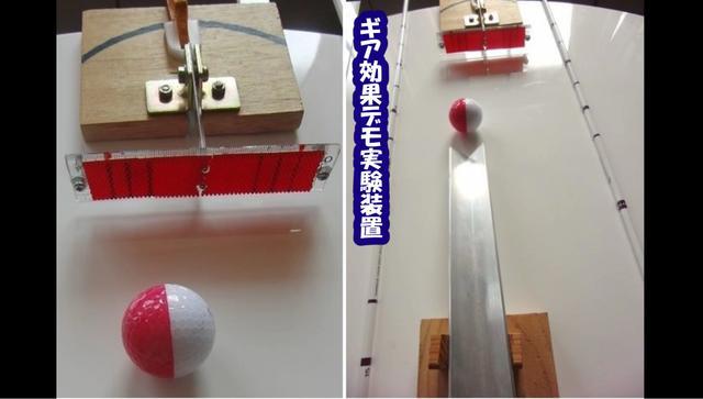 画像: これがギア効果実験装置だ!