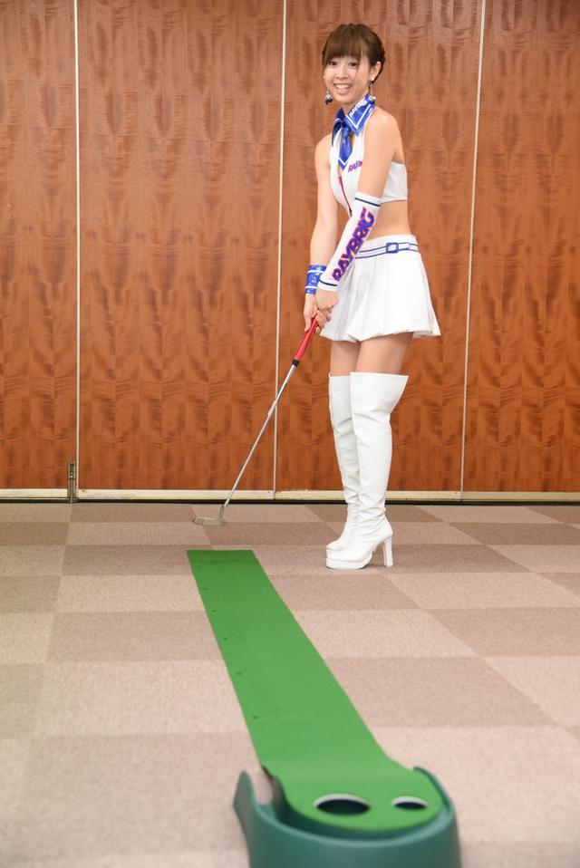 画像6: サムズアップゴルフ編集部にレースクイーンがやってきた! ところでご用事は…?