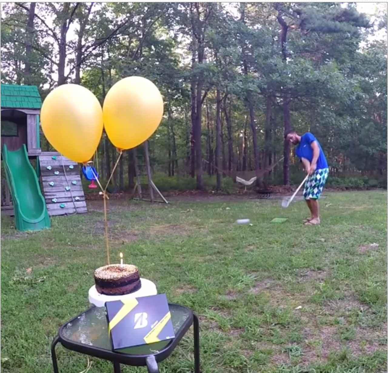 画像: いい感じに低いボールが飛んでいきます