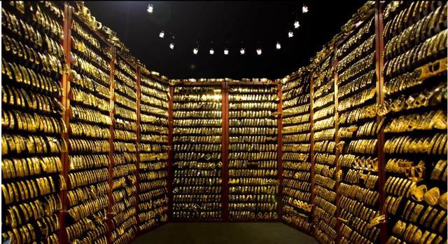 画像: こちらがピン本社のゴールドパター貯蔵庫(ヴォルト)