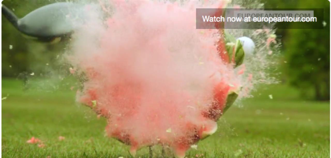 画像: 爆発! 内部に火薬でも仕込んでいたのかというレベル twitter.com