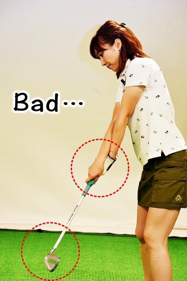 画像2: 左手甲の向きで、フェースの向きを意識しよう