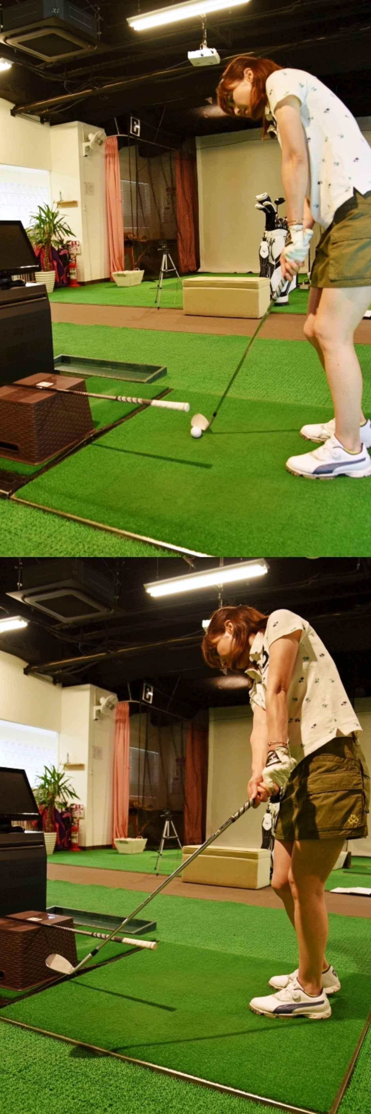 画像: カンタン練習器具でヘッドの軌道を作り上げよう