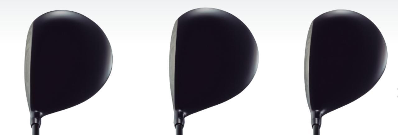 画像: 左からXD-3、XD-5、XD-7。人それぞれ好みは違うだろうが、どれも「いい顔」だ www.bs-golf.com