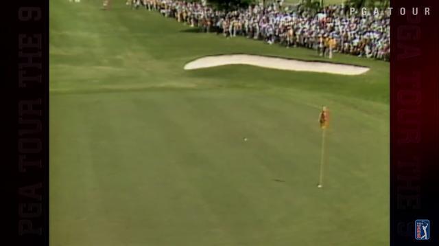 画像: 直接カップイン! 奇跡のイーグルの瞬間だ www.youtube.com